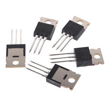 50Pcs IRFZ44N Transistor N-Channel Rectifier Power Mosfet