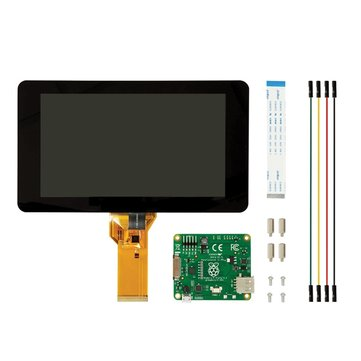 Official Raspberry Pi 7 Inch Touchscreen Display With Acrylic Base Holder For Raspberry Pi 3B/2B/A+