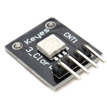 3Pcs 3 Colour RGB SMD LED Module 5050 Full Color Pwm For Arduino MCU