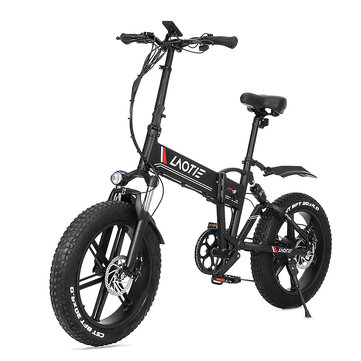 21% OFF for [CZ Direct] LAOTIE FT5 20in Fat Tire 48V 10Ah 500W Folding Electric Moped Bike
