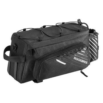 ROCKBROS A9 Travel Bicycle Bag Scalable Cycling Storage Bag Mountain Bike MTB Rear Rack Tail Seat Pannier Pack Accessories