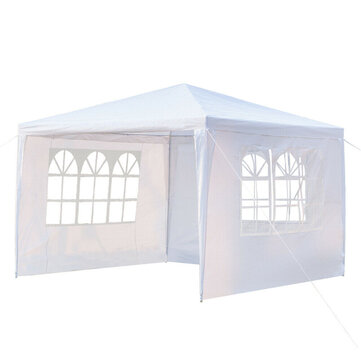 3x3m 3 Instant Sidewall Tent Canopy UV Sun Wall Waterproof Tent Sunshade Sidewall Outdoor Camping Gazebo Wedding Marquee Party
