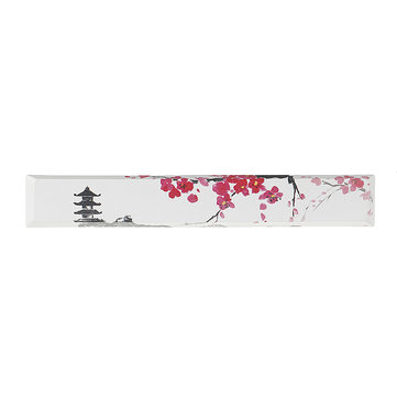 Five-sided Dyesub PBT Pagoda Plum Blossom Space Bar 6.25u Novelty Keycap