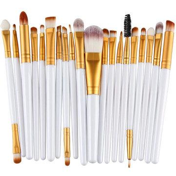 20Pcs Multifunctional Face Makeup Brushes Eye Makeup Lip Makeup Brushes Cosmetic Tool