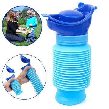 IPRee™ 750ml Portable Kids Toilet Convenience Potty Baby Urinal Boy Telescopic Emergency Pee Bottle