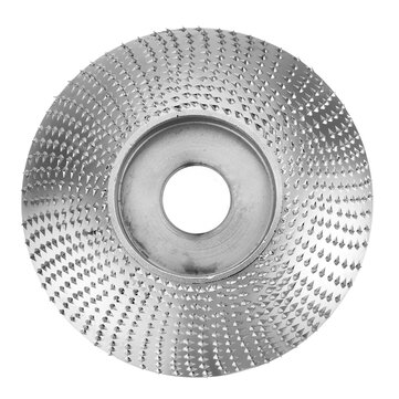Drillpro 80mm Extreme Shaping Disc 16mm Bore Tungsten Carbide Wood Carving Disc Grinder Disc for 100 115 Angle Grinder Woodworking Tool