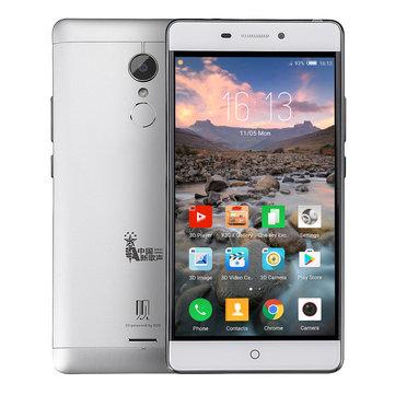 ZTE V5G-K3DX 5.5 Inch FHD 3000mAh Gleass Free 3D 3GB 32GB MSM8952 Snapdragon 617 4G Smartphone