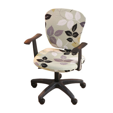 Buy Office Chair Cover Elastic Computer Chair Cover Stretch Arm Chair Seat Cover with 6 on Gipsybee.com