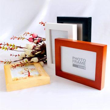 Foto colgante de 12 pulgadas marcos de madera foto marco de la foto de la pared de la pared decoración de tipo colgante de marco