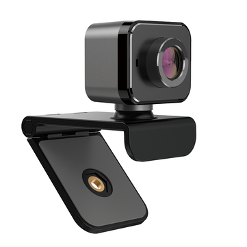 C5 1080P AutoFocus USB Webcam Plug and Play 130 Viewing Angle Light Correction Web Camera with Stereo Microphpne Support Android Windows Linux for Streaming Online Class Meeting Video Call