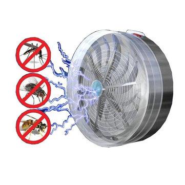 गार्डन सौर संचालित मच्छर किलर फ्लाई कीट बग बज़ Zapper आउटडोर यूवी लाइट मच्छर डिस्पेलर