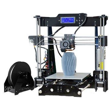 TRONXY® P802M DIY เครื่องพิมพ์ภาพสามมิติ ชุด 220 * 220 * 240 มม. การสนับสนุนการพิมพ์ขนาดออฟไลน์พิมพ์ 175 มม. 0.4 มม.
