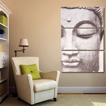 3Pcs Set Modern Buddha Canvas Print Paintings Home Wall Picture Unframed / Framed