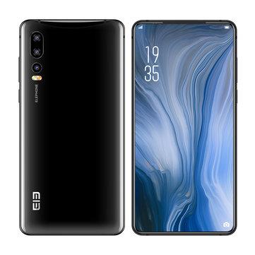 banggood Elephone U2 Helio P70 MT6771T 8コア BLACK(ブラック)