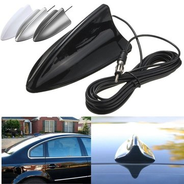 Universal Black Shark Fin Car Truck RV Radio Stereo Anten