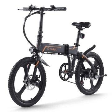 093a209a-8542-45f5-9308-3b1d138b6eba Offerta Niubility B20 a 634€, E-Bike Pieghevole 2021 da 42V