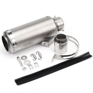 36mm-51mm Motorcycle Exhaust Pipe Scooter ATV Modified Titanium Shell Universal