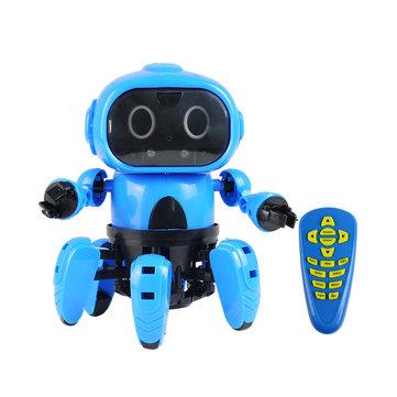 MoFun-963 fai-da-te 6-Legged RC Robot Infrarosso ostacolo ostacolo Gesto di controllo programmabile con trasmettitore