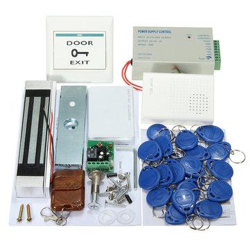 MJPT02 Entry Strike Door Lock Hệ thống kiểm soát truy cập Chuông 20 ID ID Remote Home Office