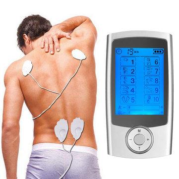 TENS Bài 10 Chế độ AB Thiết bị điện trị liệu Xung điện mát xa Liệu pháp giảm đau bằng điện trị liệu