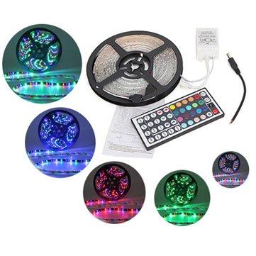 5M RGB 3528 LED Strip Lights Waterproof 12V 300led Strip