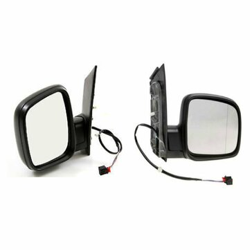 Door Wing Mirror Electric Black Left Right Side O/S N/S For Vw Caddy 2004-2015 for sale in Litecoin with Fast and Free Shipping on Gipsybee.com
