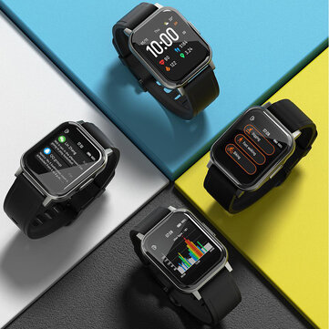 30Days Long Standby Haylou LS02 1.4inch Ture Color Full Touch Large Screen 320+320ppi Resolution 12 Sports Modes bluetooth 5.0 Smart Watch Global Version