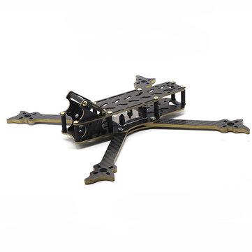 HSKRC VO235 235mm Wheelbase 5 Inch 4mm Arm Carbon Fiber Frame Kit for RC Drone FPV Racing 110g