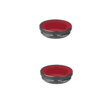 2pcs Sunnylife Diving Filter Lens Filter Red for DJI OSMO ACTION Sports Camera