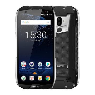 Oukitel WP5000 5.7 Inch 18:9 IP68 5200mAh 9V/2A 6GB RAM 64GB ROM Helio P25 Octa Core 4G Smartphone