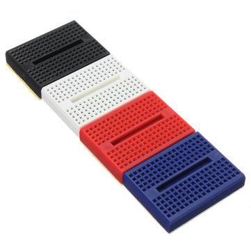 4Pcs SYB-170 Mini Solderless Prototype Breadboard 170 Points For Arduino Shield