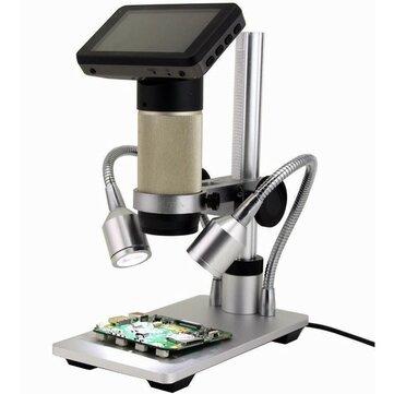 Andonstar ADSM201 1080P Tam HD USB Mikroskop Büyüteç Uzun Nesne Mesafe Mikroskop Çift Çıkış Lehimleme Parçalar Telefon İzle Onarım