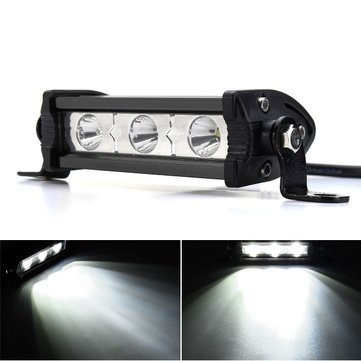 12V 4inch 9W 3LED Work Light Bar Spot Lamp for Motorcycle Car Boat SUV ATV Jeep