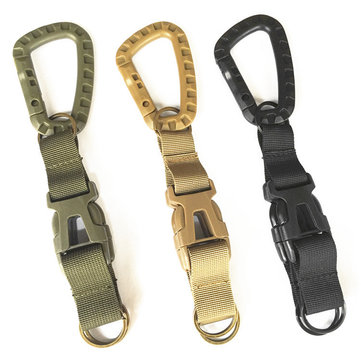 Hunting  Multifunctional Three-ring Buckle Sports Bag Accessories Tactical Pockets Backpack Hook