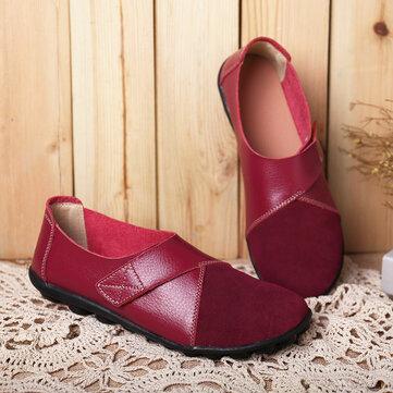 נעלי נשים נעליים על נעלי נוחות Loafers