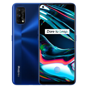 Realme 7 Pro IN Version 6.4 inch FHD+ Android 10 32MP In-display Front Camera 65W SuperDart Charge 6GB 128GB Snapdragon 720G 4G Smartphne