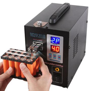 SUNKKO 737G 220V Batterij puntlasapparaat, handlasapparaat met puls- en stroomdisplay