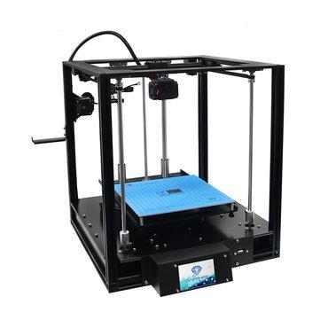 Two Trees® - Imprimante bricolage 3D bricolage SAPxyx-S Corexy Structure en aluminium, taille d'impression 220 * 220 * 200 mm avec carte mère Lerdge-X / fonction de reprise d'alimentation / impression hors ligne / écran couleur tactile de 3,5 p