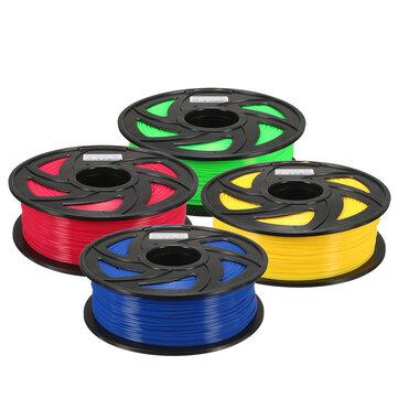 1.75mm 1KG PLA 3Dプリンタ用の透明な赤色/青色/緑色/黄色のフィラメントRepRap