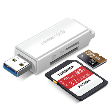 UGreen CM104 USB 3.0 to TF SD Simultaneous Read Memory Card Reader