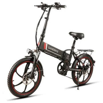 Smartbike XW-20LY 350W חכם מתקפל אופניים חשמליים 35km / h מקס. מהירות 48V 10AH E-Bike