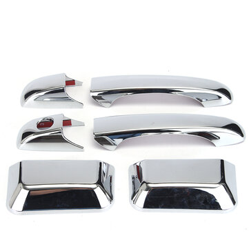 Chroom Door Handle Cover Trim för Chrysler Town & Country / Jeep Grand Cherokee