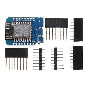 D1 mini V2.2.0 WIFI Papan Pengembangan Internet Berbasis ESP8266 FLASH ESP-12S Chip Geekcreit untuk Arduino - produk yang bekerja dengan papan Arduino resmi