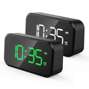 LED Digital Alarm Clock Fast Charging Backlight Snooze Mute Desktop Electronic Large Volume Alarm Clock Table Clocks Desktop Clock Home Decor for sale in Litecoin with Fast and Free Shipping on Gipsybee.com