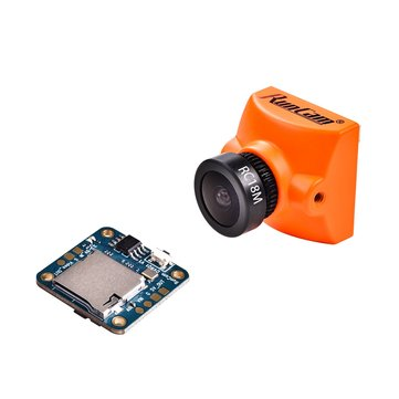 RunCam Racer 2 + Mini DVR Remote Control Super WDR CMOS 700TVL 1.8mm/2.1mm fpv Camera 6ms Low Latancy OSD With Selector Switch