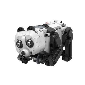 मोफुन इलेक्ट्रॉनिक पांडा स्मार्ट आरसी रोबोट खिलौना बाधा बाधा क्रॉलिंग रोबोट खिलौने