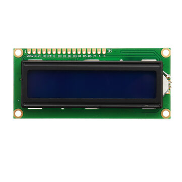 1Pc 1602 Character LCD Display Module Blue Backlight For