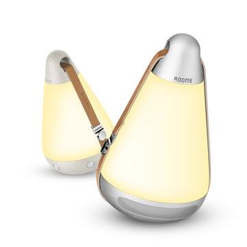 [BlitzWolf & Roome Customized] BlitzWolf® BW-LT12 Bärbar Bluetooth 4.1 Smart nattlampa 3500K Färgtemperatur 140Lm med APP-kontroll USB-laddning för utomhuscamping med hem med