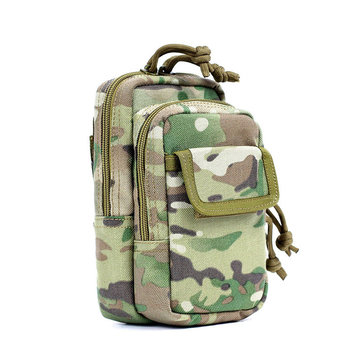 FAITH PRO Camouflage Mobile Phone Molle EDC Tactical Belt Bag Pack Waterproof Accessory Storage Pouch