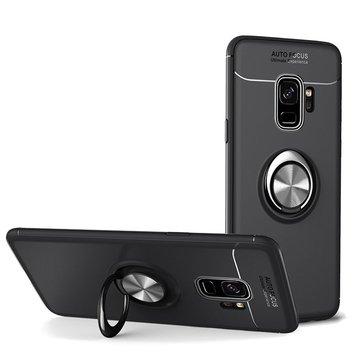 C-KU 360º Rotating Ring Grip Kicktand Protective Case For Samsung Galaxy S9/S9 Plus